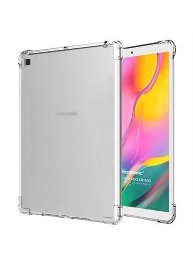 Microsonic Samsung Galaxy Tab A 10.1'' T510 Kılıf Shock Absorbing Şeffaf Renksiz